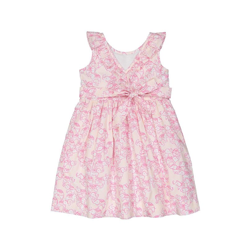 Avery Dress, Pink Elephant