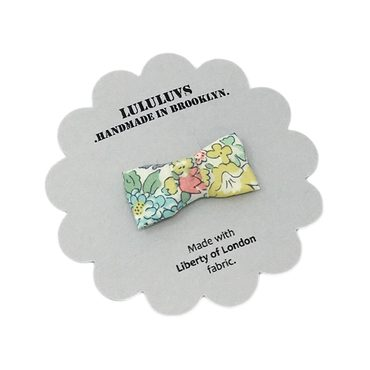 Itty Bitty Bow, Liberty of London Spring Floral