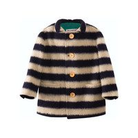 Sheep Skin Jacket, Big Stripes