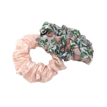 Set of 2 Liberty Scrunchies, Sweet Butterflies