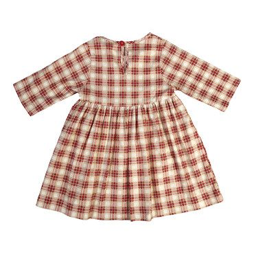 Winnie Dress, Pomegranate Plaid
